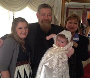 Fiona Baby Christening
